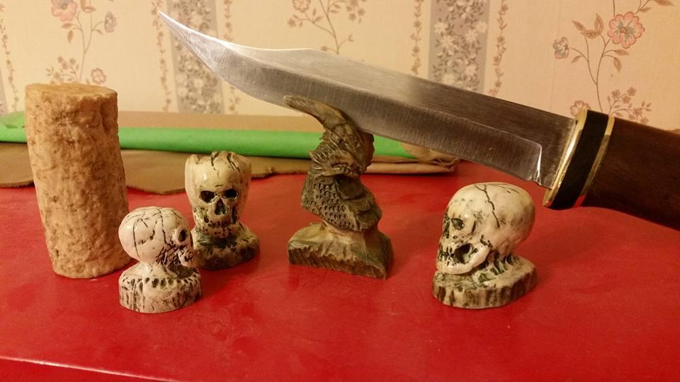 Jacks Custom Carvings and Knives by Deena-Lee-Sauve