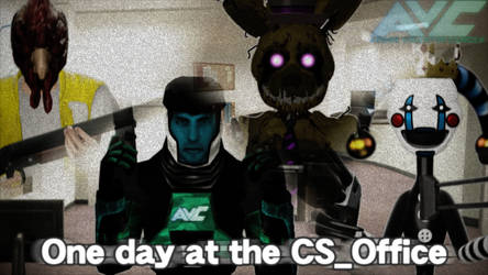 One Day At The CS_Office