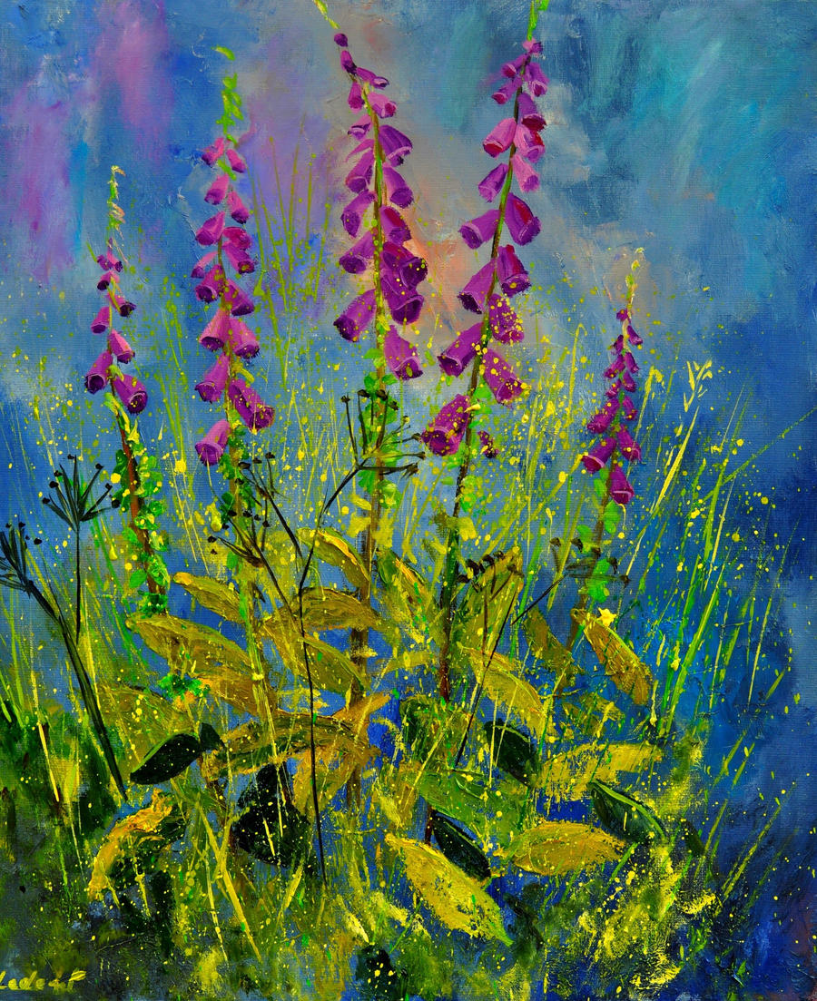 foxgloves 6711 by pledent