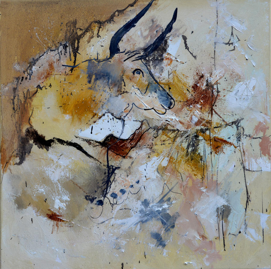Abstract bull by pledent