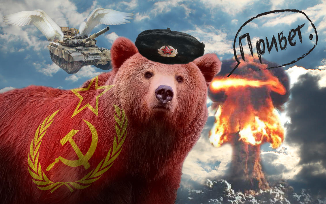 Soviet Russia Bear By Brioux On Deviantart