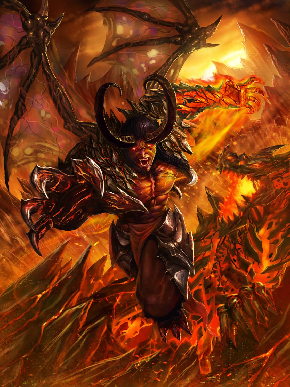 Dragon Demon Advance by DeadManAwake on DeviantArt