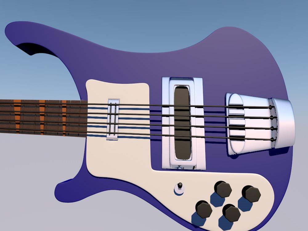 Haruhara Haruko bass from FLCL by Nicaris