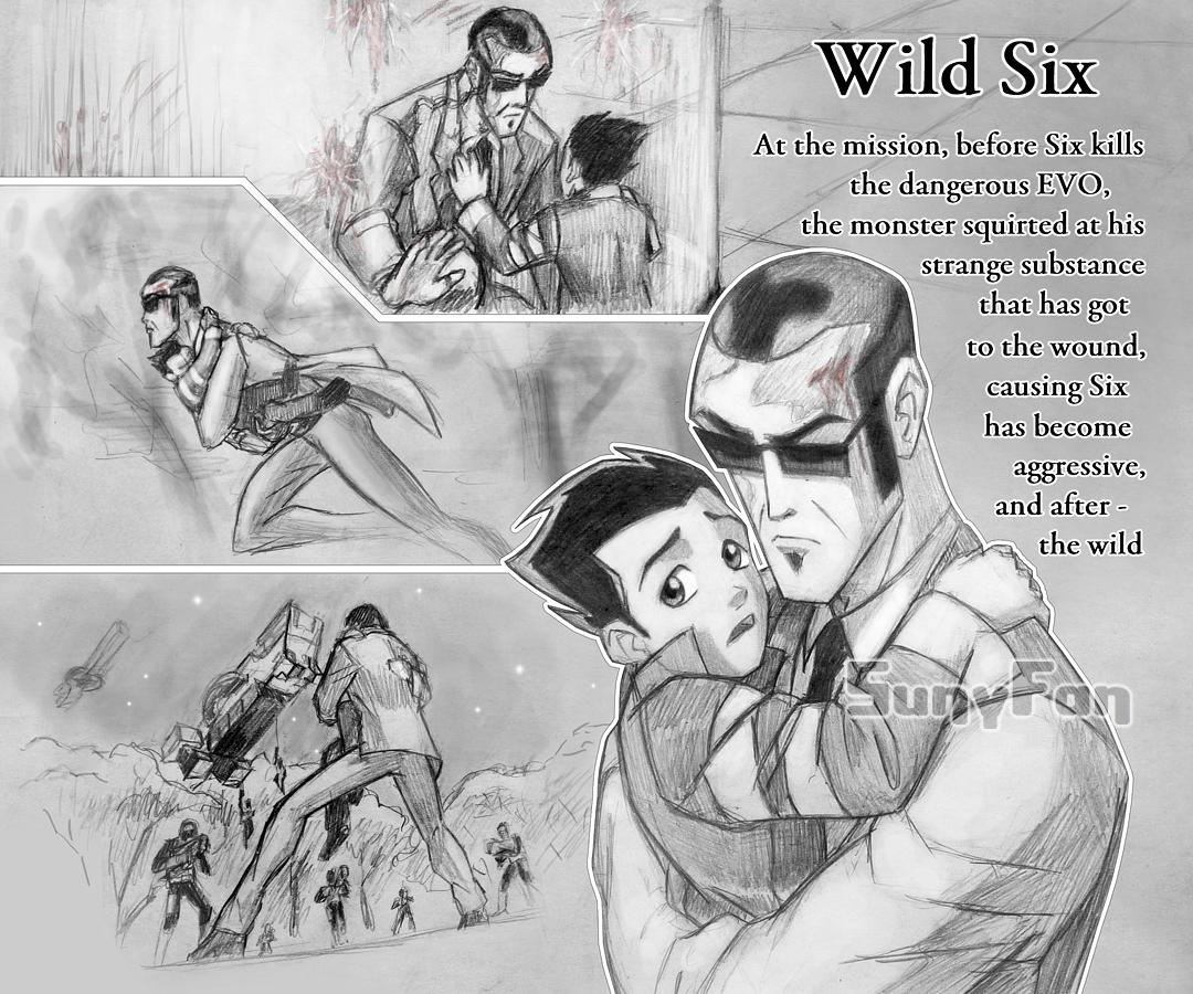 Wild Six by SunyFan