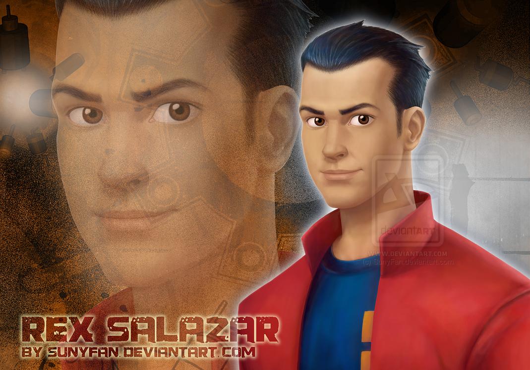 Generator Rex - Rex Salazar - Real Life by SunyFan