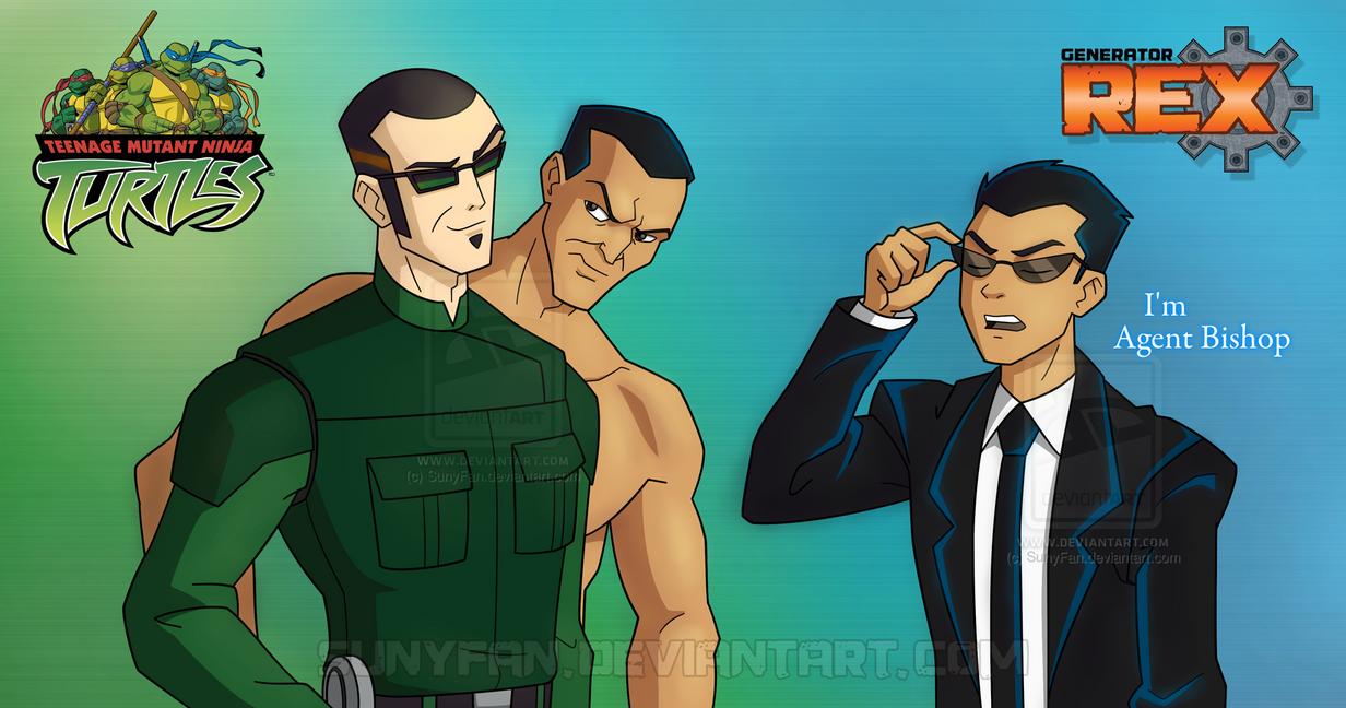 I'm Agent Bishop by SunyFan