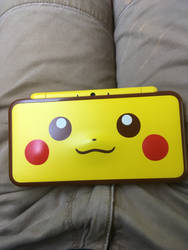 My pikachu 2ds. :p by Jaroodless