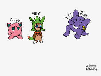 My Current Characters by Jaroodless