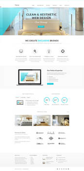 Terra Responsive Multi-Purpose Wordpress Template
