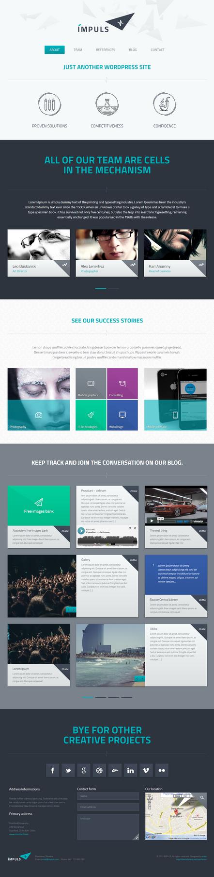 IMPULS a responsive WordPress Theme by the-webdesign