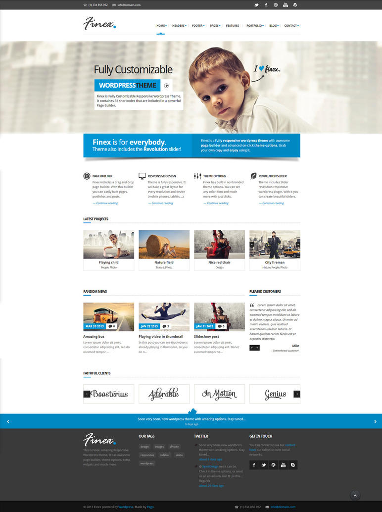 Finex a Responsive MultiPurpose Wordpress Theme by the-webdesign ...