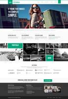 Senna a Responsive Portfolio/ Blog WordPress Theme by the-webdesign