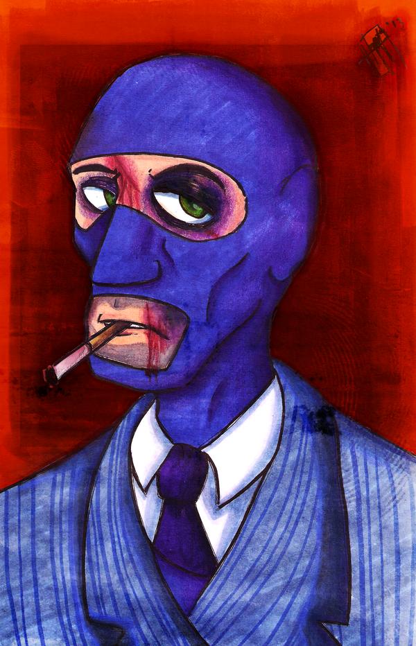 Blu Spy by HenryJDoe