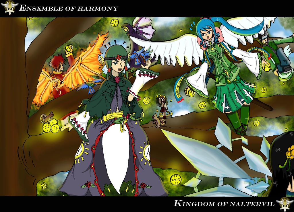 KoN - Ensemble of Harmony (Stardust Event) by WhintelZantins