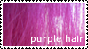 Stamp - Purple Hair by bibiana-tenebra