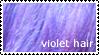 Stamp - Violet Hair by bibiana-tenebra