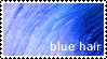 Stamp - Blue Hair by bibiana-tenebra