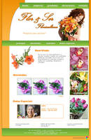 Web: Flor e Ser Floricultura by bibiana-tenebra
