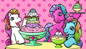 Ponies and Ice Cream by bibiana-tenebra
