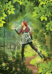 Green Magic by bibiana-tenebra