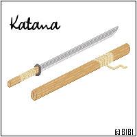 Katana - Simple by bibiana-tenebra