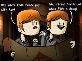The mystery of Peter Pettigrew by harrisonb32