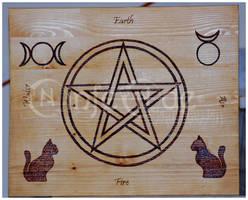 Artisan Crafts: Altar Portable by NinfeAde