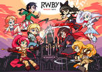 Let's Fight    RWBY vs JNPR