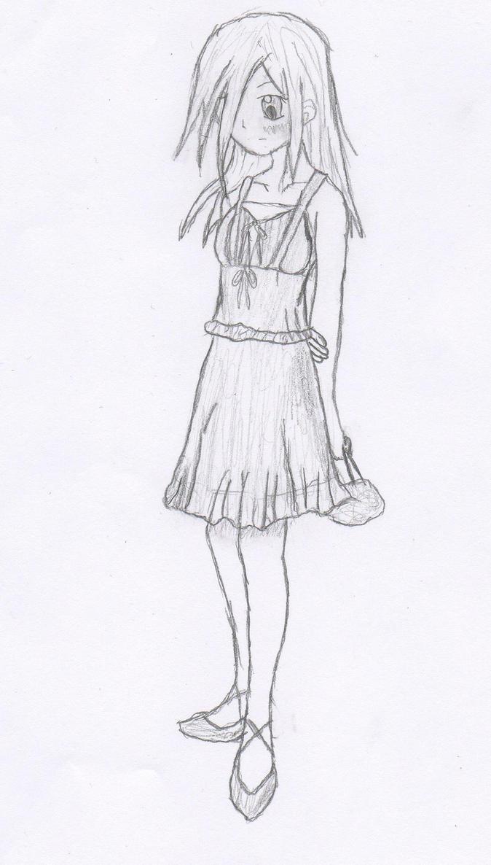 vanessa summer dress sketch by sandragon13 on deviantart