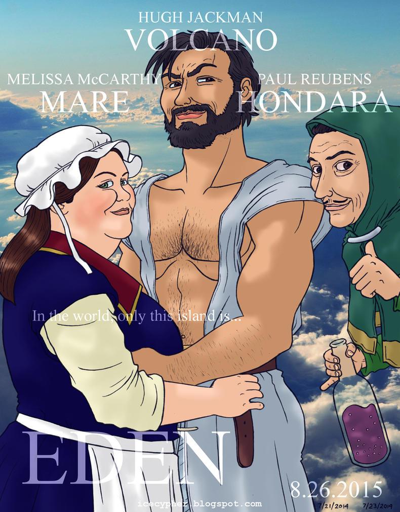 Eden, Volcano, Mare and Hondara by Cesar-Hernandez
