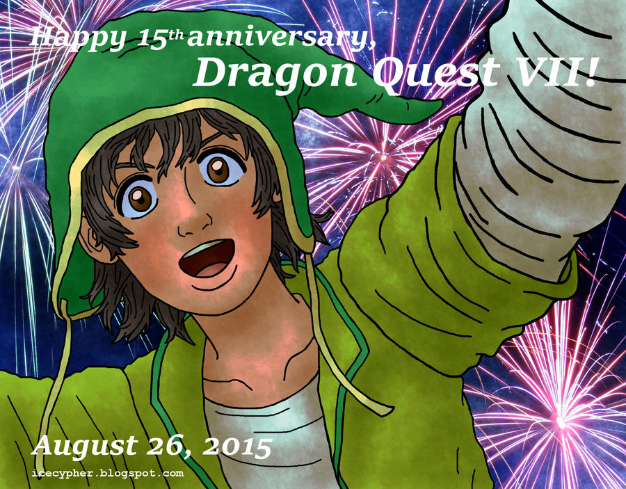 15 years of Dragon Quest VII by Cesar-Hernandez