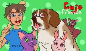 Cujo and friends by Cesar-Hernandez