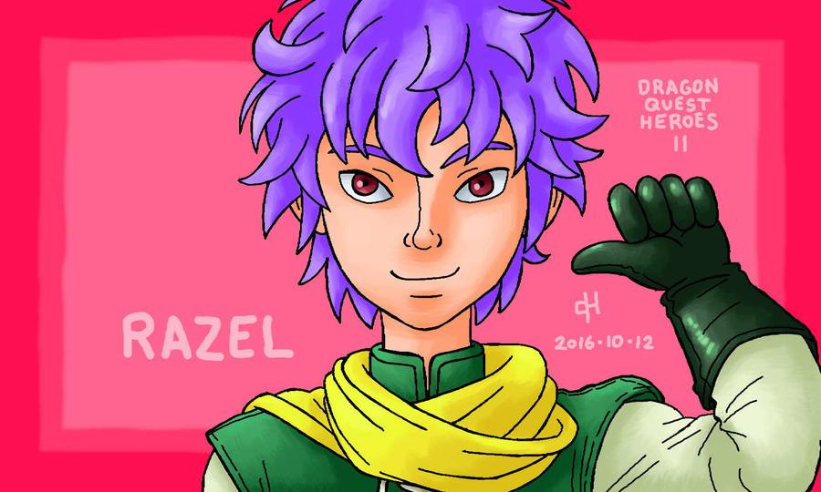 Dragon Quest, Razel by Cesar-Hernandez on DeviantArt