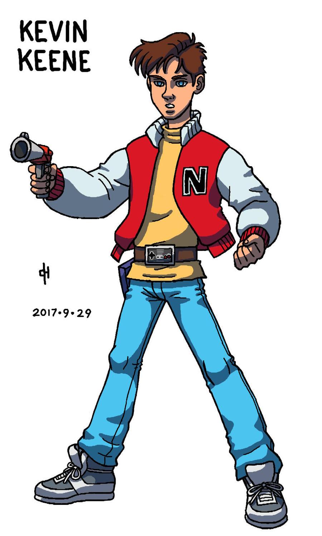 Captain N Kevin Keene By Cesar Hernandez On Deviantart