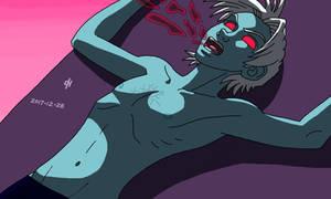 The alien parasites did the rest by Cesar-Hernandez