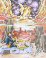 Scott and Phoenix by Cesar-Hernandez