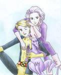 Sadamoto Cypher and Psylocke