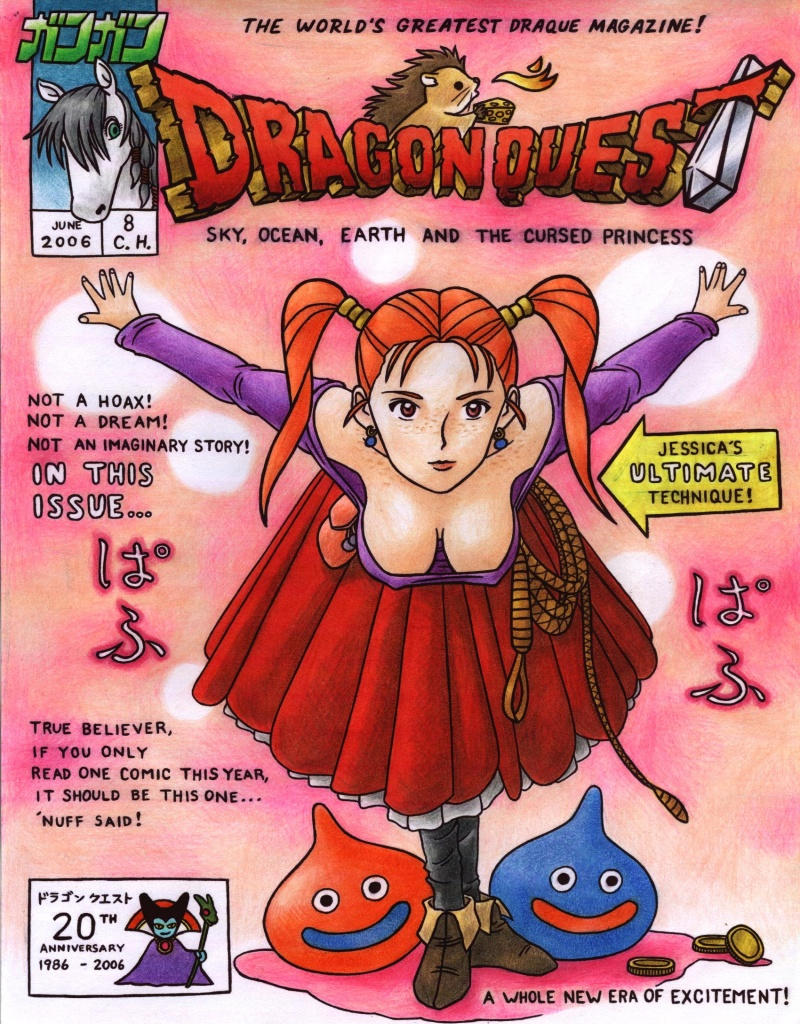 Dragon Quest VIII cover by Cesar-Hernandez