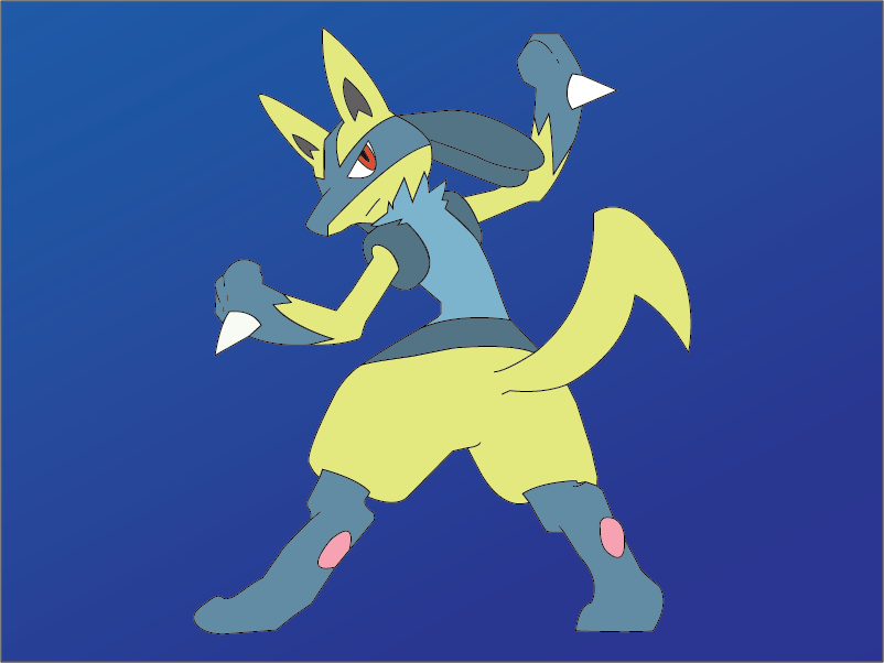 Shiny Lucario by NeosForce4727 - 74.8KB