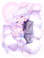 My Sweet Fluffy Love by KotoNyan