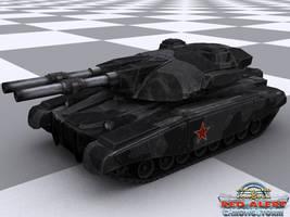 Soviet Heavy Tank by jayrun