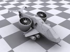 Nod Harpy VTOL Assault Craft by jayrun