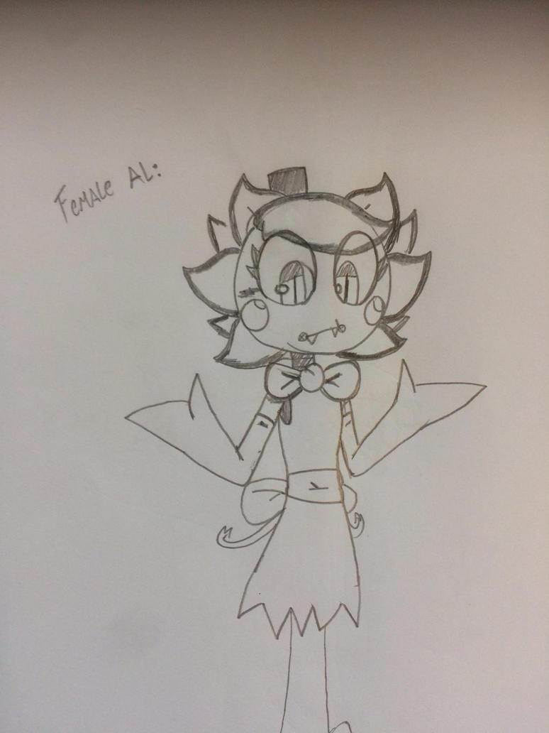 FNAP - Female Al: Nya by WolfieTheWolfFNAF