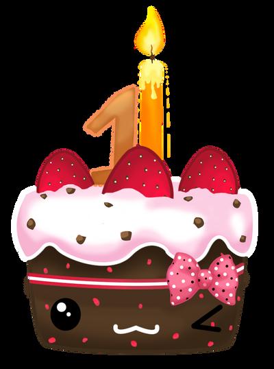 Cute Cake Cartoon