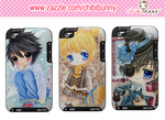 Anime chibi boys Ipod Touch cases