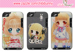 Anime chibi girls Ipod Touch cases