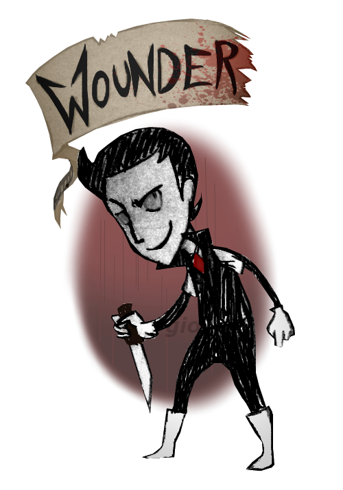 Don't Starve OC - Wounder by LadyDestinyWeb