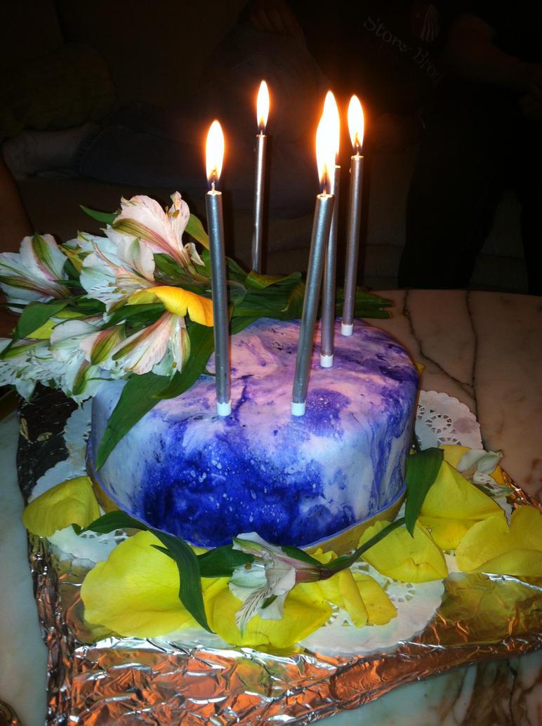 Birthday cake for my mom by kcitten6 on deviantART