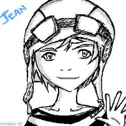 D.Gray Man- Jean by monkEeXD