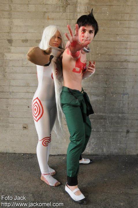 Ganta and Shiro - Deadman Wonderland by ShuzaCosplay